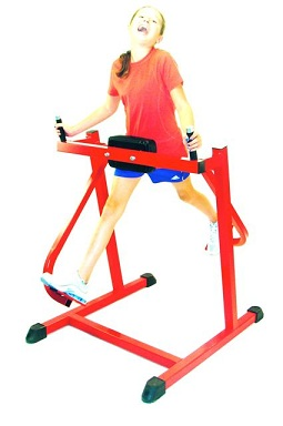 swinging exercise machine